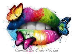 Butterfly Lips Image