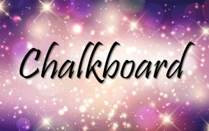 Chalkboard Title
