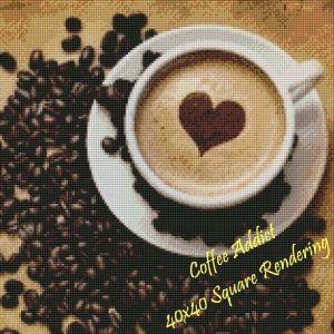 Coffee Addict Square Rendering