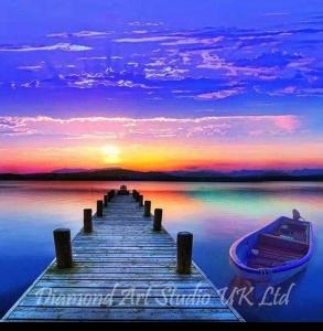 Sunset Pier Image
