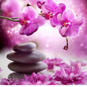 Orchid Spa Stones Image