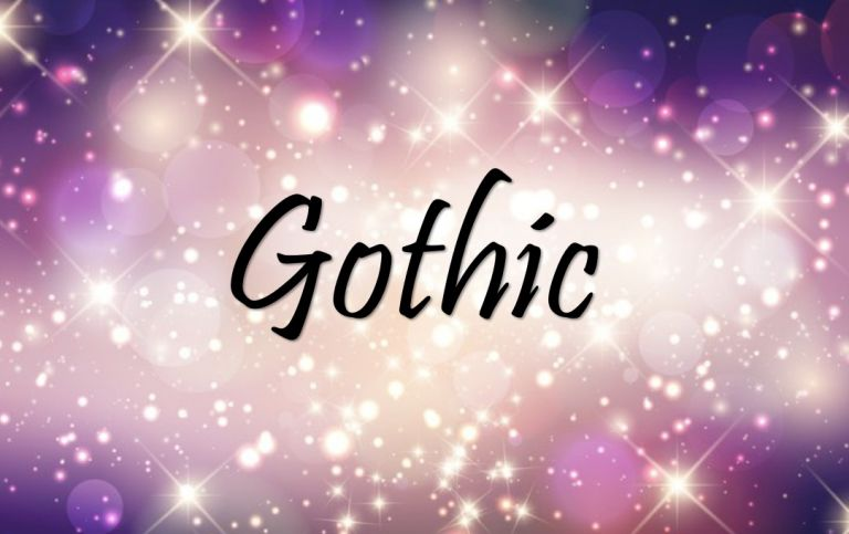 Gothic Title