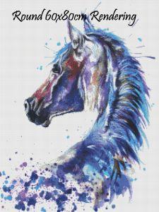 Splatterhorse Round Rendering