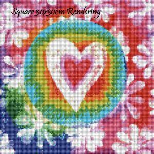 Groovy Love Square Rendering