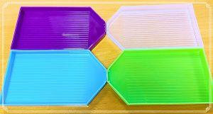 Multi Colour Trays